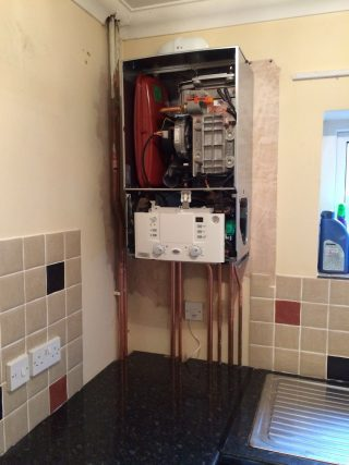 Here4Heat Worcester Bosch Chichester Combination Boiler Change During Image